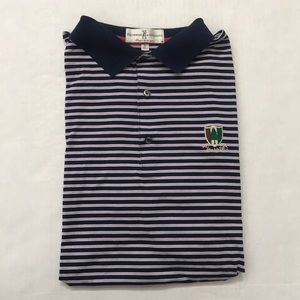 Fairway & Greene Blue Pine Valley Golf Polo Shirt